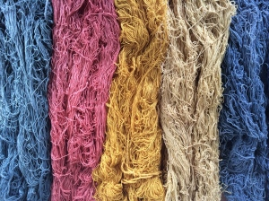 Close up yarn